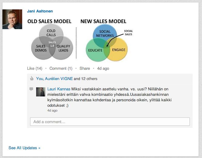 Myynnin malli muuttuu!